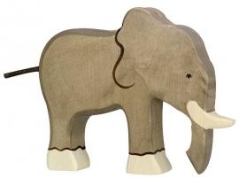 Holztiger olifant