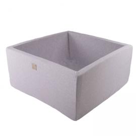 Meow ballenbad - vierkant licht grijs