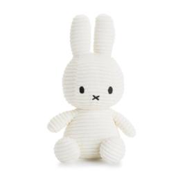Nijntje knuffel corduroy 24cm | Wit