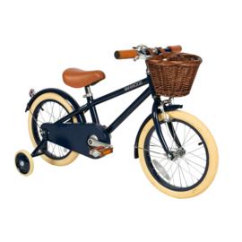 Banwood fiets met pedalen - blauw