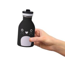 Noodoll - drinkfles Riceberry - Zwart