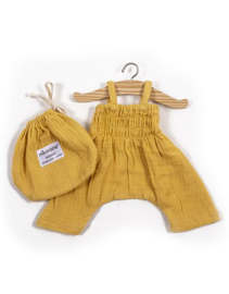 Minikane Doll Jumpsuit | Mosterd geel