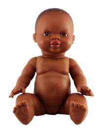 Minikane Doll Girl donkere ogen | African