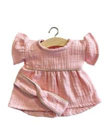 Minikane Doll jurkje + haarband | Roze
