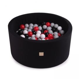 Meow ballenbad  - zwart
