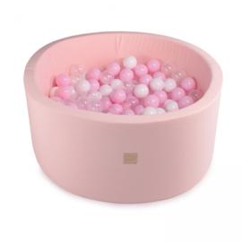Meow ballenbad  - licht roze