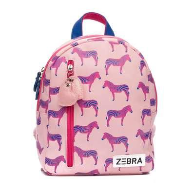 Zebra rugzak - Zebra pink