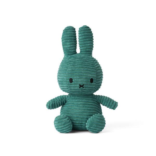 Nijntje knuffel corduroy 24cm | Groen