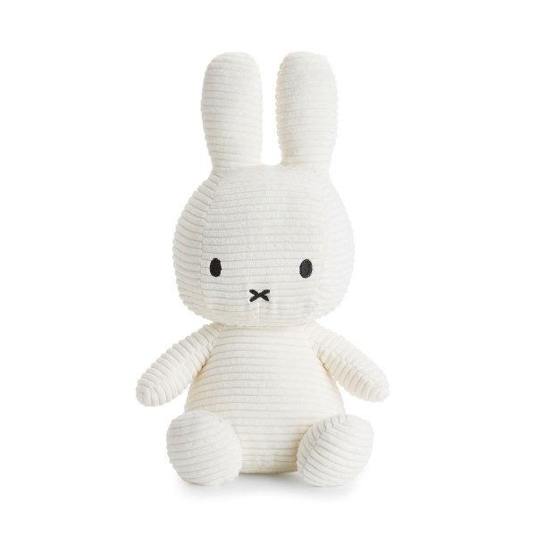 Nijntje knuffel corduroy 50cm | Wit