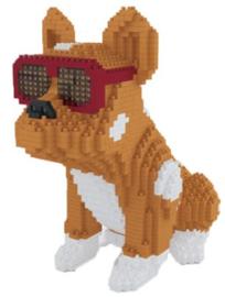 Diamond blocks sunglass doggy (1676 blokjes)