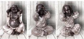Boeddha 3 luik (3x30x20cm)