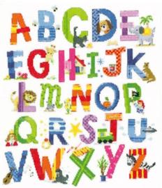 Diamond painting alfabet (70x50cm)