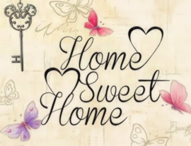 Diamond painting home sweet home (50x40cm)(full)