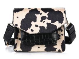 Schouder tas croco cow