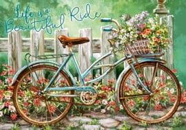 Diamond painting beautyful ride (60x45cm)(full)