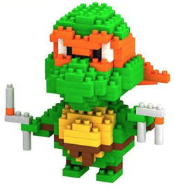 Diamond blocks Ninja turtles (+/-200 blokjes)