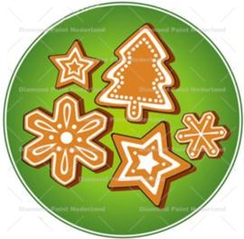Kerst koekjes 20 x 20 cm (full)