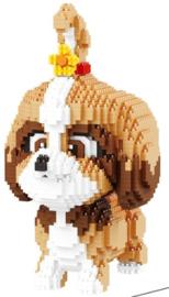 Diamond blocks lief hondje (1821 blokjes)