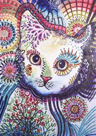 Diamond painting poes (35x25cm)