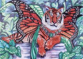 Diamond painting prachtige tijger (35x25cm)