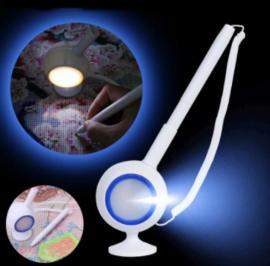 Pen voor diamond painting met led verlichting (per stuk)