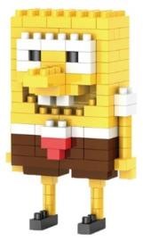 Diamond blocks sponge bob (+/- 125 blokjes)
