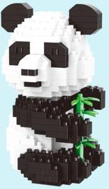 Diamond blocks panda beer (3 in 1)(460 blokjes)
