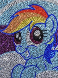 Diamond painting pony (15x20cm)(full)
