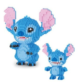 Diamond blocks Stitch met baby (1500 blokjes)