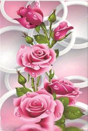 Diamond painting prachtige rozen (60x40cm)(full)