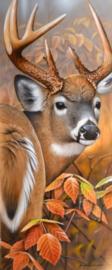 Diamond painting hert (50x20cm)(full)