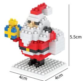 Diamond blocks kerstman met pakje (159 blokjes)
