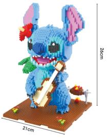 Diamond blocks Stitch met gitaar (2882 blokjes)