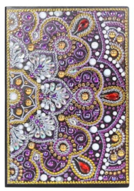 Diamond panting notitie boek mandala