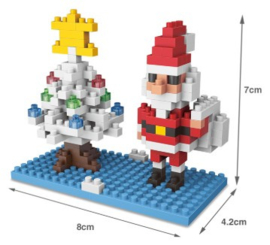 Diamond blocks kerstman (157 steentjes)
