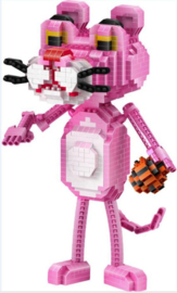 Diamond blocks Pink Panter met bal  (824 blokjes)