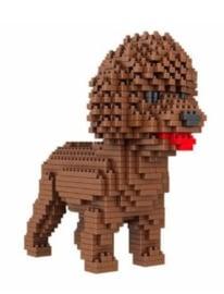 Diamond blocks bruine hond (950 steentjes)