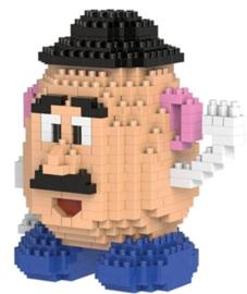 Diamond blocks meneer aardappelhoofd (+/- 450 blokjes)