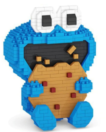 Diamond blocks koekie monster (618 blokjes)