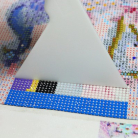 Correctie liniaal voor diamond painting