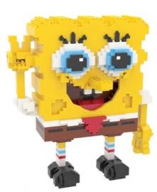 Diamond blocks Spongepop (1600 blokjes)