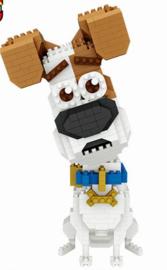 Diamond blocks hondje (700 steentjes)