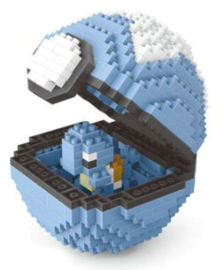 Diamond blocks pokebal  (+/- 390 blokjes)