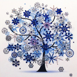 Diamond painting winter boom (25x25cm)