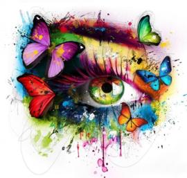 Diamond Painting butterfly eye (50x50cm)full)