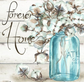 Diamond painting forever home (50x50cm)(full)