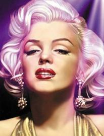 Diamond painting Marilyn (60x45cm)(full)