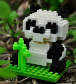 Diamond blocks panda beertje (94 blokjes)