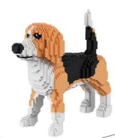Diamond blocks American Fox hond (2266 blokjes)