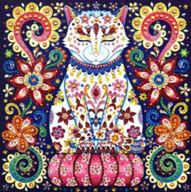 Diamond Painting poes (25x25cm)